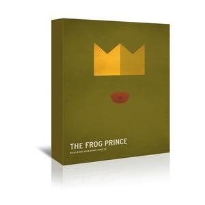 Obraz na plátně Frog Prince With Text od Christiana Jacksona