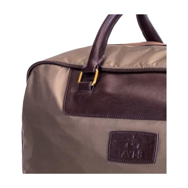Cestovná taška Avi-8, svetlohnedá