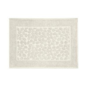 Sivobéžová bavlnená kúpeľňová predlozka Maison Carezza Ciampino, 50×70 cm