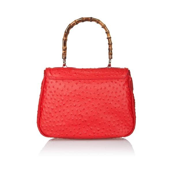 Kožená kabelka Markese 7022 Red