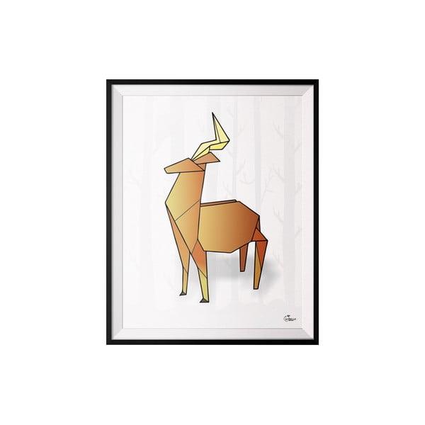 Plagát Deer, 30x40 cm
