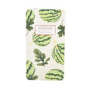 Plechový zápisník Sunshine, melón