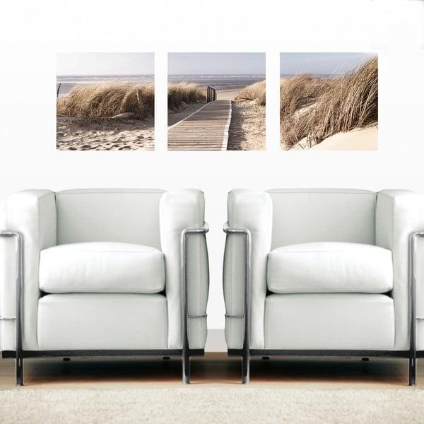 Samolepiace obrazy Na pláži, 30x30 cm