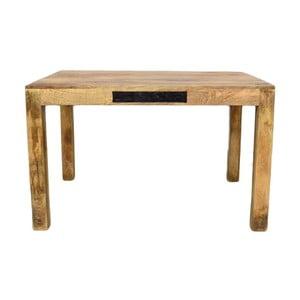 Jedálenský stôl z masívneho mangového dreva Massive Home Bella, 90 x 120 cm