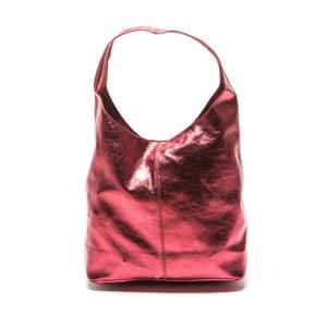 Červená kožená kabelka Sofia Cardoni Lucia