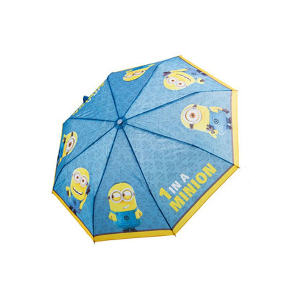 Detský skladací dáždnik Minions, ⌀ 45 cm