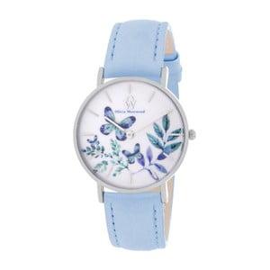Dámske hodinky s remienkom v modrej farbe Olivia Westwood Manna 8e951bd5d9d