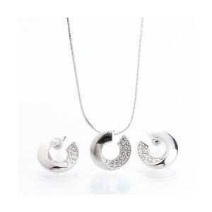 Set náhrdelníka a náušníc so Swarovski Elements Laura Bruni Atola