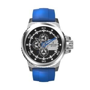 Pánske hodinky WWW 1991, Metallic/Blue
