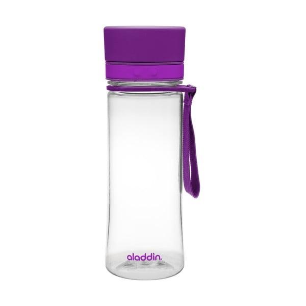 Fľaša na vodu Aveo 350 ml, tmavofialová