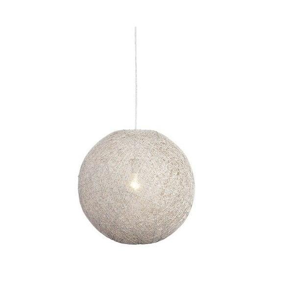 Biele stropné svietidlo LABEL51 Twist, ⌀60 cm