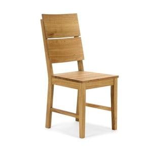 Jedálenská stolička z dubového dreva SOB Henrietta