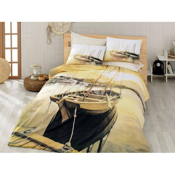 Obliečky s plachtou Golden Horizon, 200x220 cm