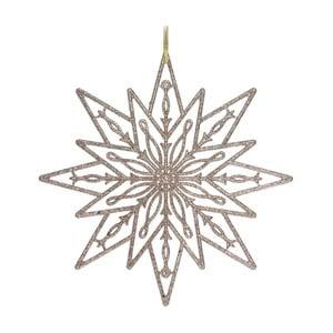Závesná dekorácia v béžovozlatom odtieni Ewax Copo, ⌀ 22 cm