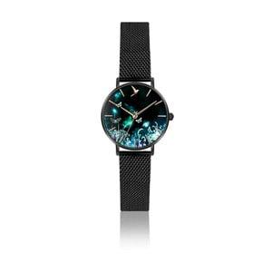 Antikoro dámske hodinky s remienkom v čiernej farbe Emily Westwood Forest