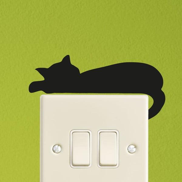 Samolepka Ambiance Sleeping Cat Mini