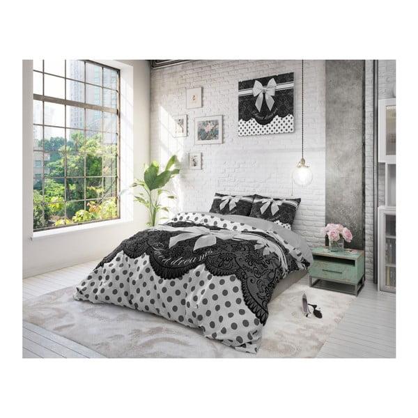 Bavlnené obliečky na jednolôžko Sleeptime Bow, 140 × 220 cm