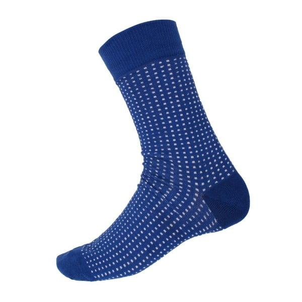 Ponožky Mini Dots Blue, veľkosť 40-44