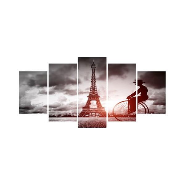 Viacdielny obraz Black&White no. 76, 100x50 cm