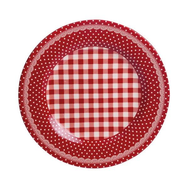 Tanier Red Dots&Checks, 25.5 cm