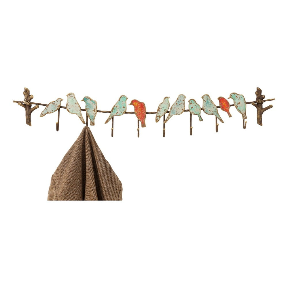 Nástenný vešiak na kabáty Kare Design Bird Party