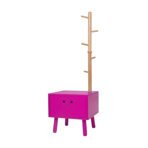 Zásuvka s vešiakom Dress Boy Pink