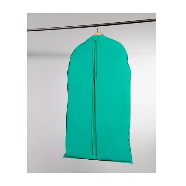 Textilný závesný obal na šaty Compactor Garment Green, 100 cm