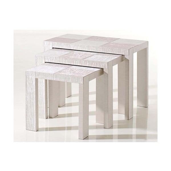 Stolíky Table Nesting White