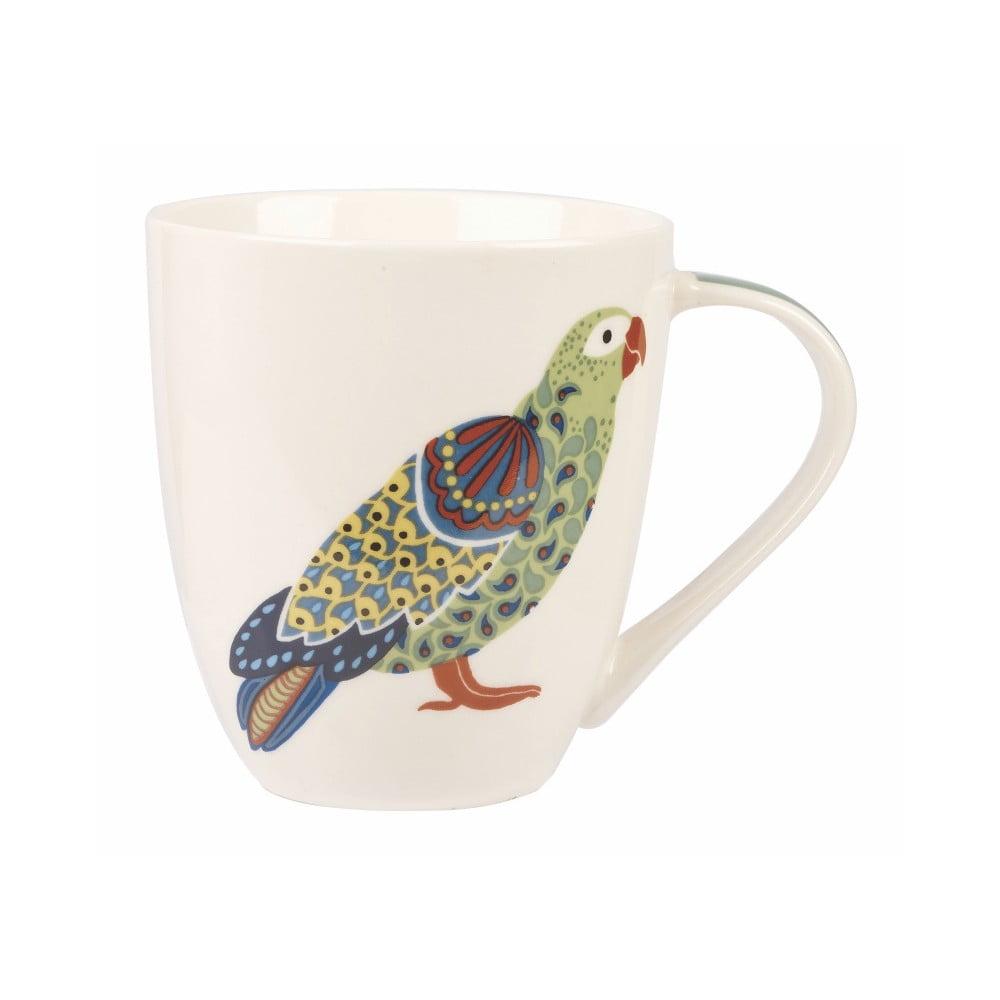 Hrnček z kostného porcelánu Churchill China Paradise Birds Parrot, 500 ml
