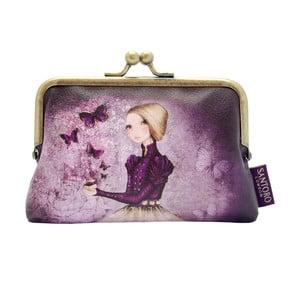 Obojstranná listová kabelka Santoro London Mirabelle Amethyst Butterfly