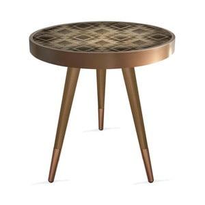 Príručný stolík Rassino Tile Circle, ⌀ 45 cm