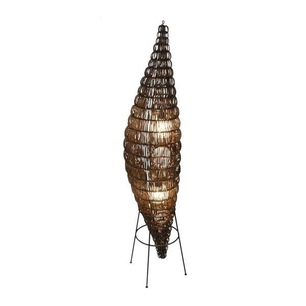 Hnedá voľne stojacia lampa Naeve Puppe