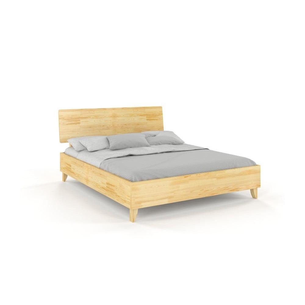 Dvojlôžková posteľ z masívneho borovicového dreva SKANDICA Viveca, 160 x 200 cm