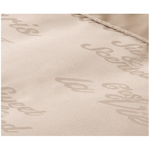 Obliečky Muller Textiel Paris Sand, 240x200cm