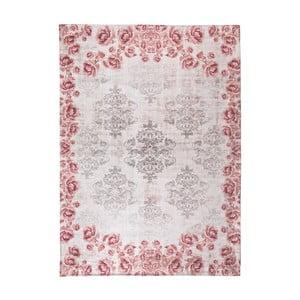 Sivo-ružový koberec Universal Alice, 70×135cm