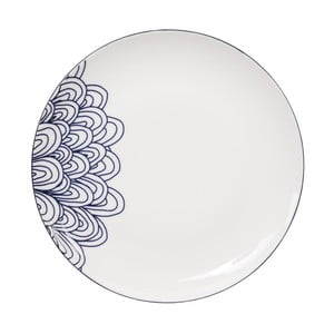 Porcelánový tanier Tokyo Design Studio Le Bleu De Nimes, ⌀ 27 cm