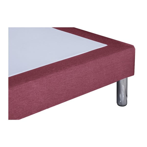 Ružová posteľ Stella Cadente Sommier, 90x200cm