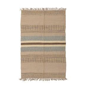 Hnedý jutový koberec InArt Sahara, 120×80cm