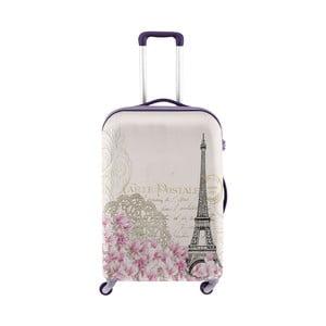 Obal na kufor s motívom romantického Paríža Oyo Concept, 67×43cm
