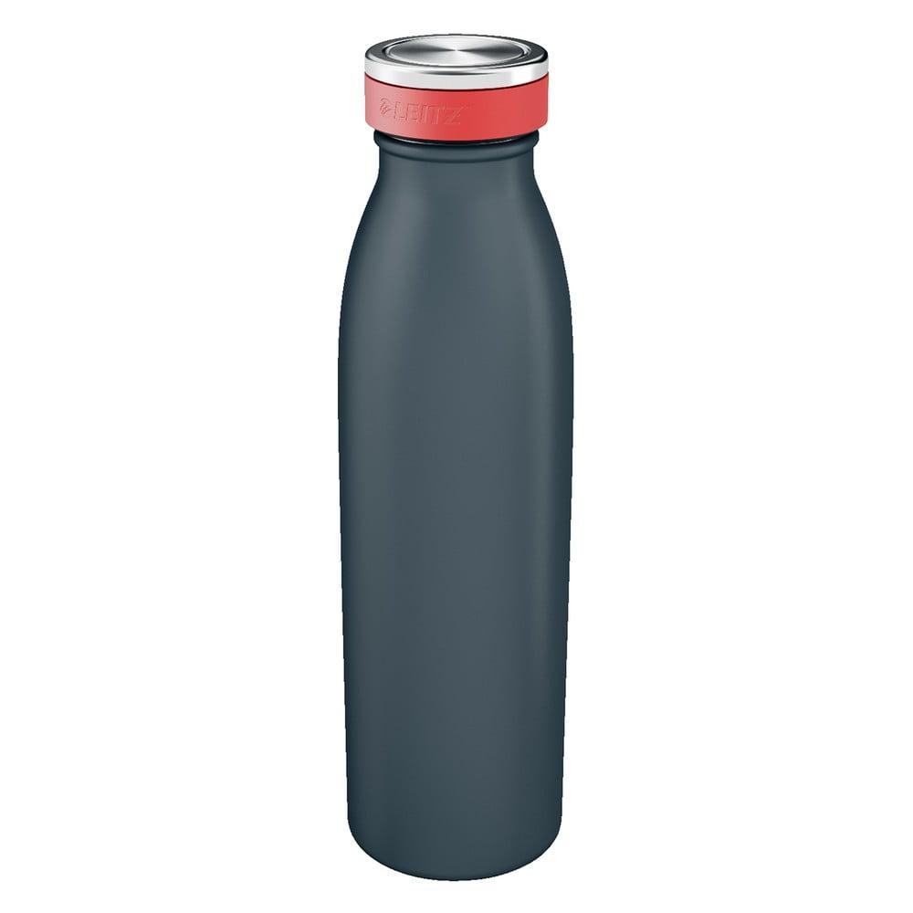 Sivá fľaša na vodu Leitz Cosy, objem 0,5 l