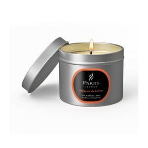 Sviečka s vôňou zemolezu Parks Candles London Honey, 25 hodín horenia