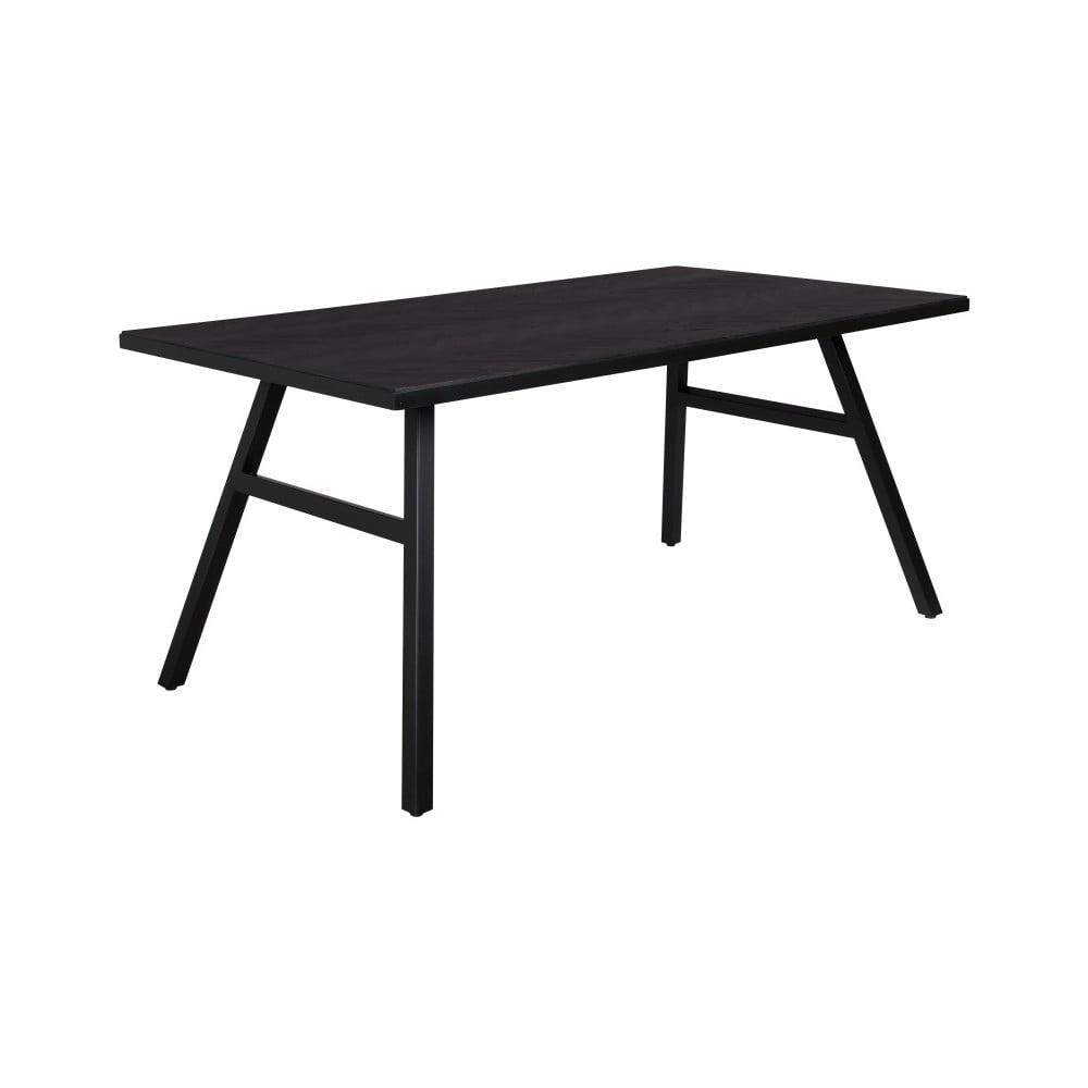 Čierny stôl Zuiver Seth, 220 x 90 cm