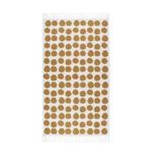 Pomarančovo-biely koberec Roomblush Fluff, 80x140cm