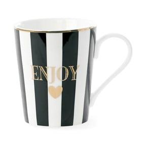 Hrnček Miss Étoile Enjoy Black Stripes,8cm