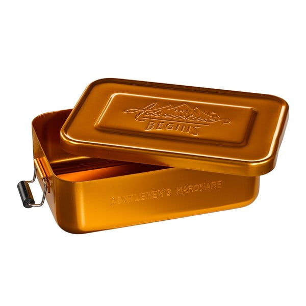 Box na desiatu Gold Tin