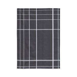 Tmavosivá bavlnená kuchynská utierka Zone Garro, 50 × 70 cm