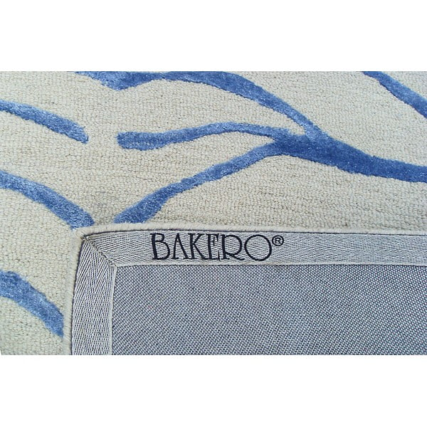 Koberec Bakero Zebra Light Blue, 153x244cm