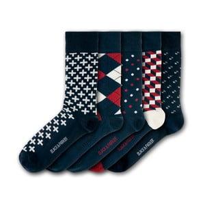 Sada 5 ponožiek Black&Parker London Easton Gardens, veľkosť 37 – 43