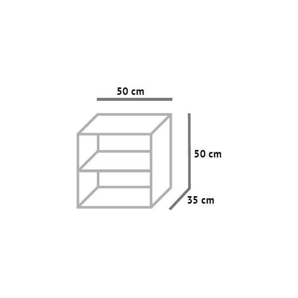 Otvorená skrinka Fam Fara, 50x50 cm
