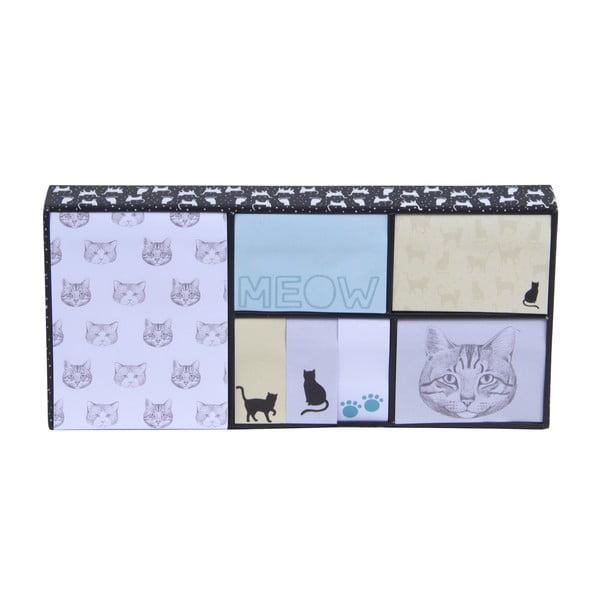 Sada bločkov a lepiacich papierikov Tri-Coastal Design Meow